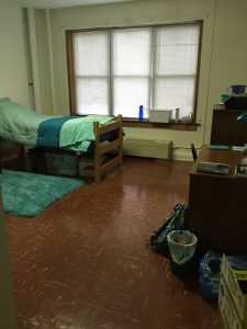 Killer Harmony | Dorm Room Tour: Single Dorm | If you are looking for some inspiration to liven up your dorm room, check out my dorm room tour for ideas. I have a single dorm, but I think these ideas can be incorporated into any dorm living situation.