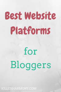 Killer Harmony | WordPress and Blogger are the two biggest blogging platforms out there. Here is a comparison of them and who should use what platform.