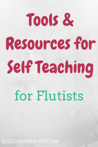 Killer Harmony | Tools & Resources for Self Taught Flutists | Cover Image