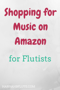 Hannah B Flute | Shopping on Amazon for Flutists