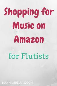 Hannah B Flute | Shopping on Amazon for Flutists