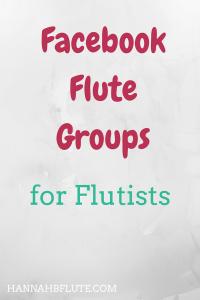 Hannah B Flute | Facebook Flute Groups