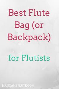 Hannah B Flute | Best Flute Bag