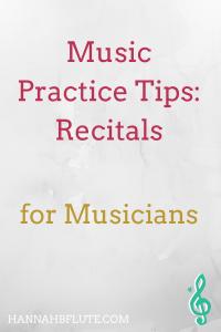 Music Practice Tips | Hannah B Flute