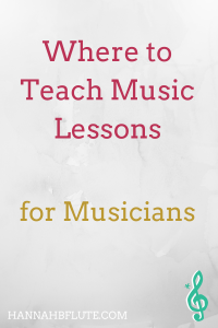 Teach Music Lessons Online vs. In Person | Hannah B Flute