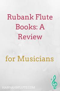 Rubank Flute Books: A Review | Hannah B Flute