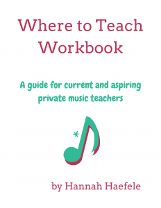 Where to Teach Private Music Lessons